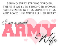 I Am A Proud Army Wife