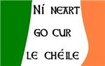 Ní neart go cur le chéile!  There is no strength w