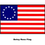 Betsy Ross US Historical Flag