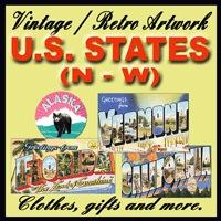U.S. States Vintage Store (N - W)