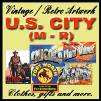 U.S. City Vintage Store (M - R)