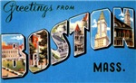 Boston Massachusetts Greetings