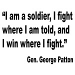 Patton Soldier Fight Quote