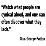 Patton Cynical People Quote