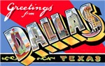 Dallas Texas Greetings