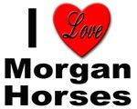 I Love Morgan Horses