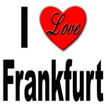 I Love Frankfurt Germany