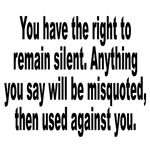 Right to Remain Silent Misquote