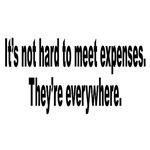 Meeting Expenses Humorous Quote