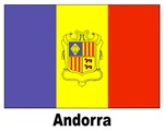 Andorra Andorran Flag