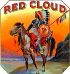 Red Cloud Cigar Label