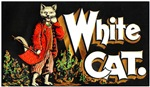 White Cat Cigar Label
