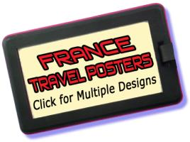 France Travel Posters