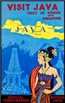 Java Travel Poster 3