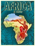 Africa Travel Poster 1