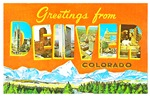 Denver Colorado Greetings