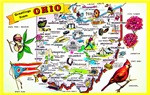 Ohio Map Greetings