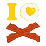 I Love Bacon And Eggs