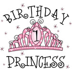 Tiara Birthday Princess 1st