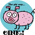 The Pig Says Oink
