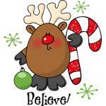 Believe Reindeer