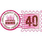 Birthday Stamp 40