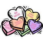 Candy Hearts I