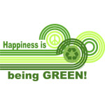 Happiness Being Green