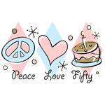 Peace Love 50