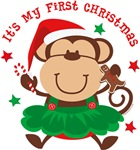 Monkey Girl 1st Christmas