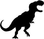 Tyrannosaurus Silhouette