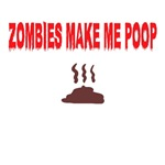Zombie slogan Shirts for Halloween
