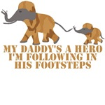 Kids Army clothing-My Dad's a Hero