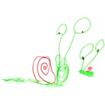 Doodle Snails T-shirts & Gifts