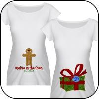 Due in March Christmas Maternity Shirts