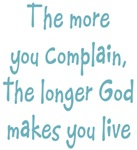 The more you complain