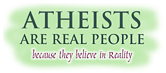Atheists are Real People