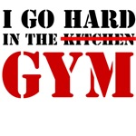 go hard in the gym