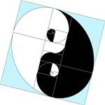 Golden Ratio Yin and Yang