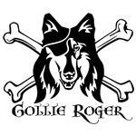 Collie Pirate Dog