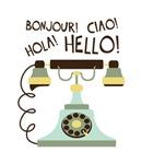 Bonjour! Ciao! Hola! Hello!