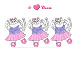 Kitty Cat I Love To Dance