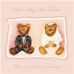 Bear Hugs Are Forever Thank You Gifts For Wedding