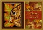 Autumn Treasures Squirrel