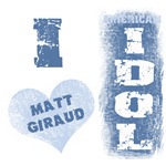 Matt Giraud American Idol Fan Gear