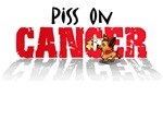 Piss on Cancer Chihuahua Dog Humor T-Shirts and Gi