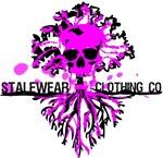 Stalewear Skull and Roots Vintage Logo