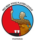 Pro Beer Pong Players Logo w/Special Beer Fill
