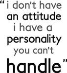 Funny quote attitude