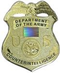Counterintelligence Badge